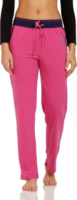 Squirrel Solid Women's Purple Track Pants