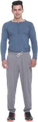 FREE RUNNER Striped Men's Grey Track Pants