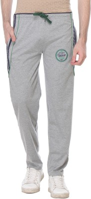 Glasgow Self Design Men's Grey Track Pants