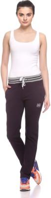 EX10SIVE Solid Women's Purple Track Pants
