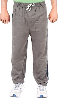 Funky Guys Solid Men's Green Track Pants