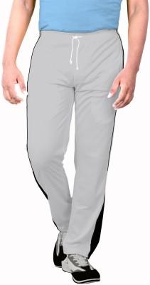 Sportee Solid Men's Grey Track Pants