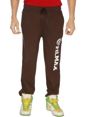 Filmax Solid Men's Brown Track Pants