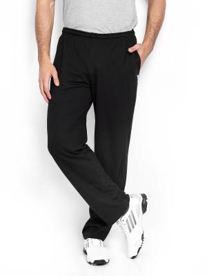 Duke Stardust Solid Men,s Black Track Pants