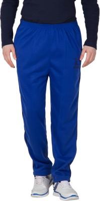 MYSH Smart Solid Men's Blue Track Pants