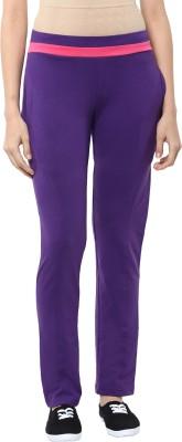 Sakhi Sang Solid Women's Purple, Pink Track Pants