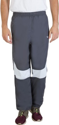 Burdy Solid Men's Grey Track Pants