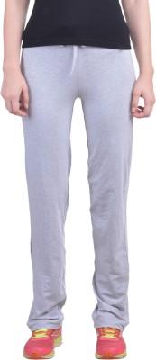 Dollar Missy Solid Women's Grey Track Pants at flipkart