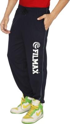 Filmax Fashion Solid Men's Dark Blue Track Pants