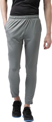 2Go Solid Mens Grey Track Pants