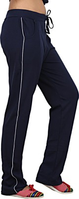 Sequeira Solid Women's Blue Track Pants