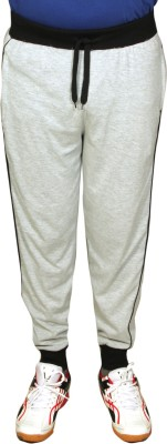 AMBIKA WEARS Solid Men's Grey Track Pants