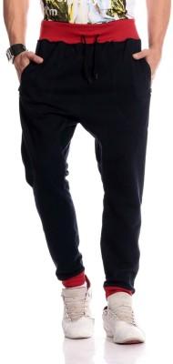 Brohood Solid Men,s Blue Track Pants