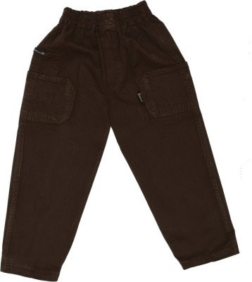 SETVEL Solid Boy's Brown Track Pants