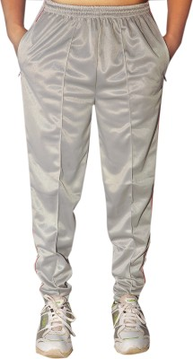 Dyed Colors Solid Men's Grey, Grey Track Pants