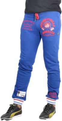 Showoff Solid Men's Dark Blue Track Pants