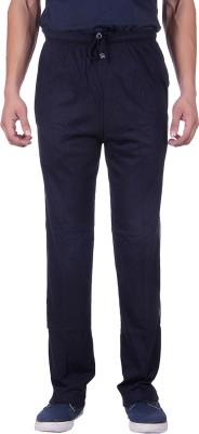 Sprig Striped, Solid Men's Dark Blue, Blue Track Pants