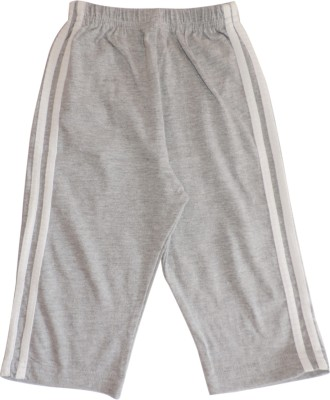 Ole Baby Sporty Vertical Striped Baby Boy's Grey Track Pants