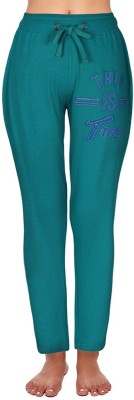 Coucou by Zivame Solid Women's Green Track Pants
