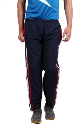 Fitz Solid Men's Dark Blue Track Pants