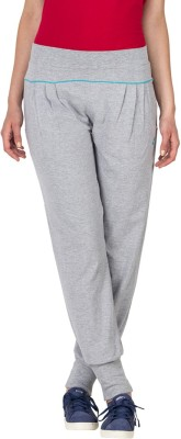 Lovable Solid Women's Grey Track Pants