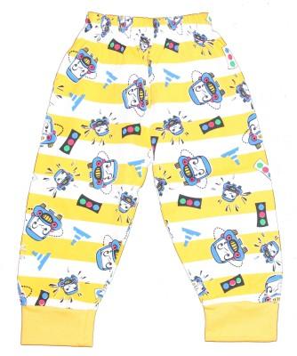 Georgi Striped Baby Boy's Yellow Track Pants