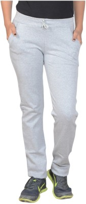 Sweekash Solid Women's Grey Track Pants at flipkart