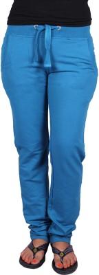 Raves Solid Women's Dark Blue Track Pants