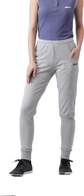 2Go Solid Women's Grey Track Pants at flipkart