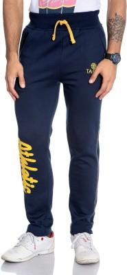 Tab 91 Solid Men's Blue Track Pants