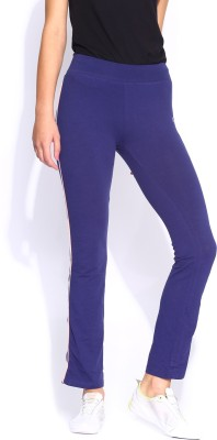 HRX by Hrithik Roshan Woven Women's Blue Track Pants