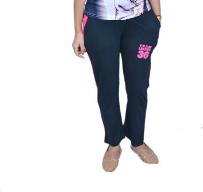Himgiri Solid Women's Black Track Pants at flipkart