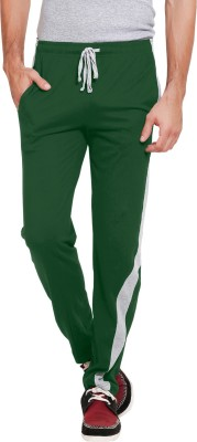 Softwear Self Design Men's Green Track Pants