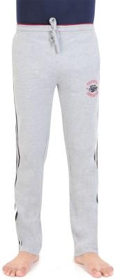 Bongio Self Design Men's Grey Track Pants