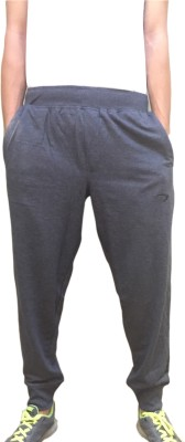 Fizzique Embroidered Men's Grey Track Pants