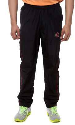 Sports 52 Wear Solid Men's Black, Red Track Pants