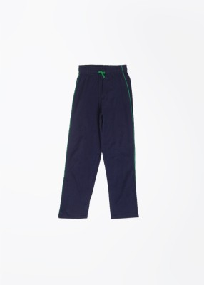 Day 2 Day Solid Boy's Blue Track Pants