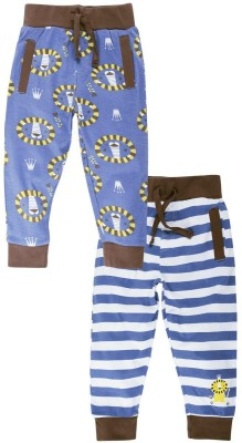 Snuggles Striped Baby Boy's Multicolor Track Pants