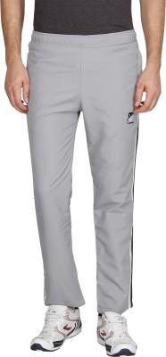 Vwear Solid Men's Grey Track Pants