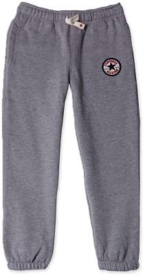 Converse Solid Boy's Grey Track Pants