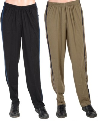 Gazelle Active Solid Men's Brown, Black Track Pants
