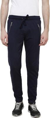 Crux&Hunter Solid Men's Blue Track Pants