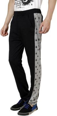 Era of Attitude Solid Men's Black Track Pants