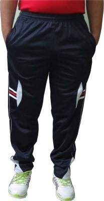 Troos Solid Men's Blue Track Pants