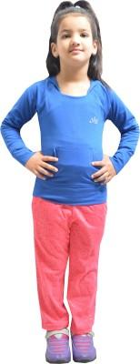 Shaun Track Pant For Girls(Pink) at flipkart