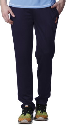 Atheno Solid Men's Blue Track Pants