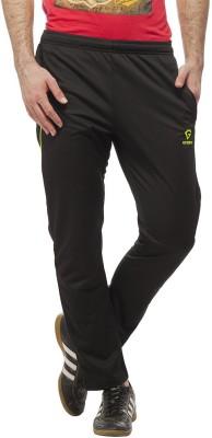 Gypsum Self Design Men,s Black, Yellow Track Pants
