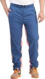 Spawn Solid Men's Blue Track Pants
