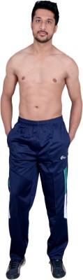 Dev Solid Men's Blue Track Pants