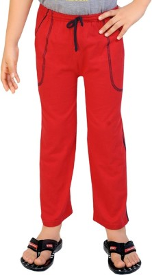 Be 13 Solid Boy's Red Track Pants
